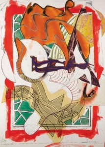 "Frank Stella. ""The Waves: I Hark!"" 1989"