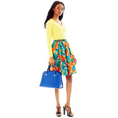 Duro Olowu for jcp Top, Floral Skirt, Sandals & Crossbody $25 - $50
