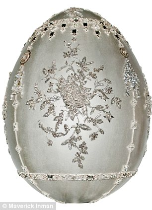 Marchesa for the Faberge Egg Hunt