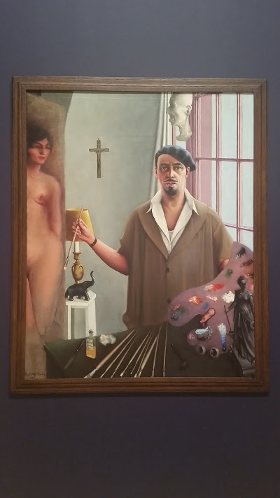 "Archibald Motley ""Self-Portrait (Myself at Work)"" 1933 Oil on canvas"