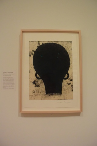 "Martin Puryear ""Untitled (LA MoCA portfolio) 1999 Hard and soft ground etching and aquatint, on cream Japanese paper, laid down on white wove paper (chine colie) The Art Institute of Chicago. Photo by Erin K. Hylton"