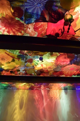 """Dan Chihuly """"Persian Ceiling (details)"""" Photo by Erin K. Hylton 2016"""