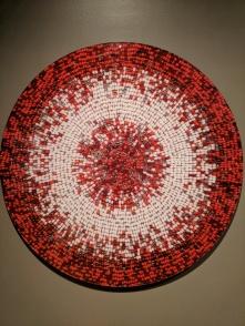 "Nadia Myre ""Meditations on Red #2"""