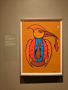 """Johnson Meekis """"Kingfisher (Keshkimminiseh)"""" 1975"""