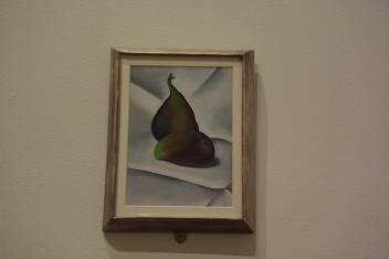"Georgia O'Keefe ""Two Figs"" 1923 Oil on board"