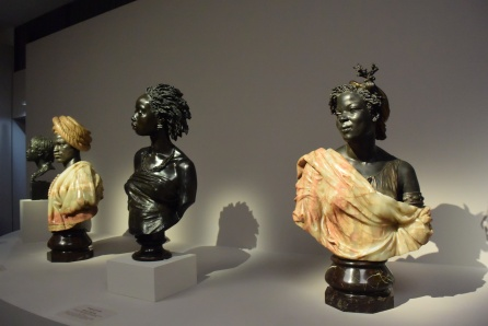 Charles Cordier's sculptures, created during the 1847-1848 period in which he celebrated the rich diversity in his models.